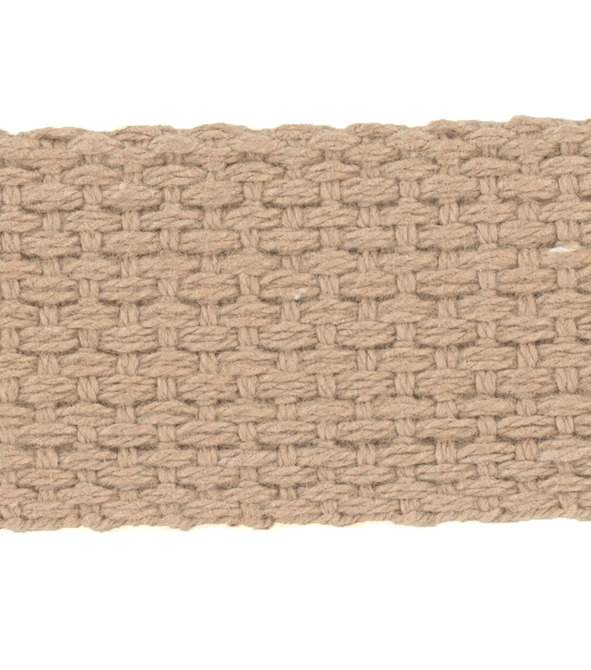 Simplicity Trim-1\u0022 Cotton Belting Tan
