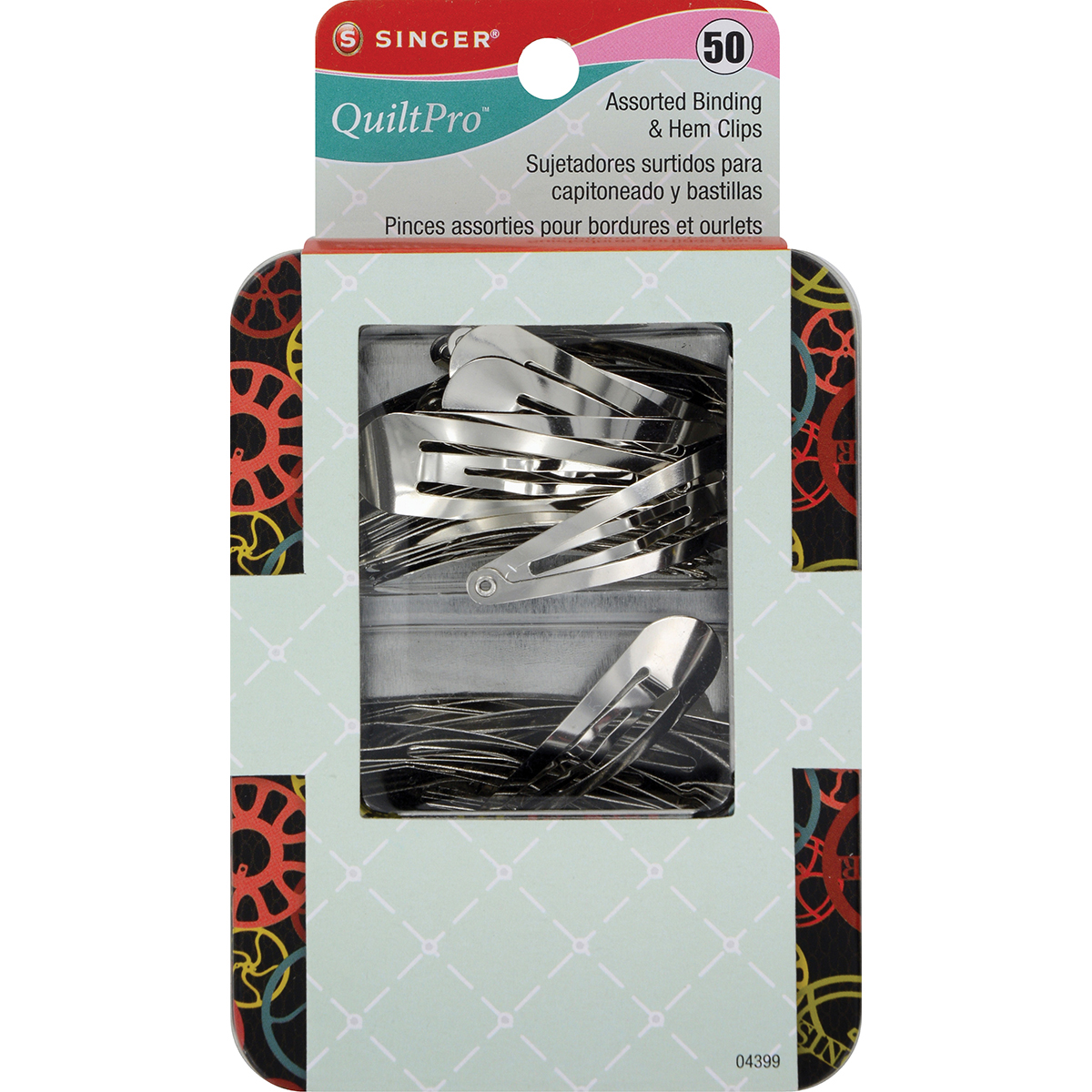 QuiltPro Assorted Binding & Hem Clips