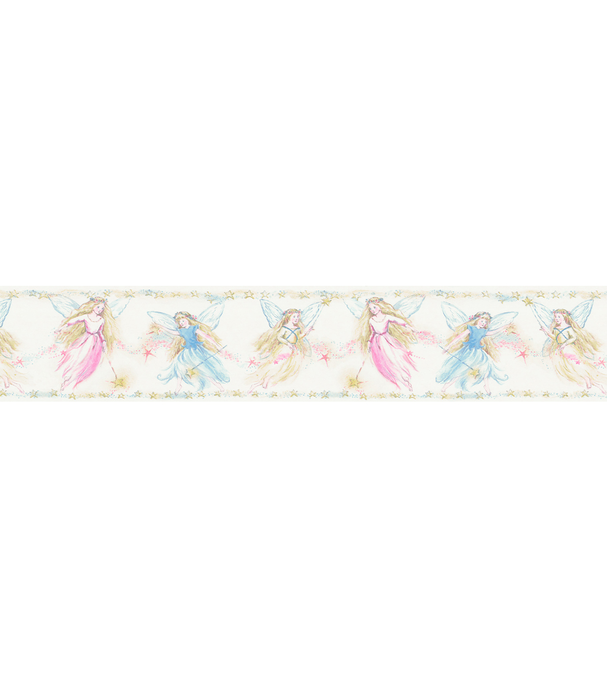 Cottingley Yellow Fairies Wallpaper Border