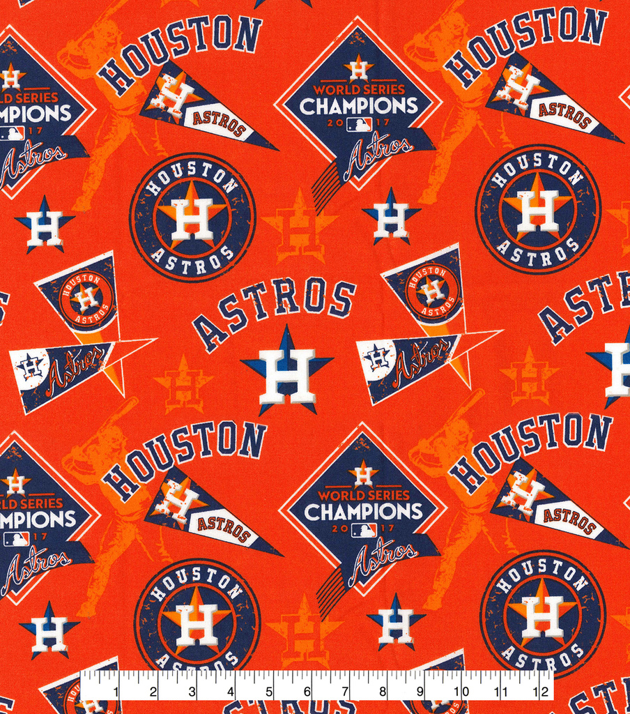 picture about Astros Printable Schedule identified as Houston Astros Cotton Cloth -World-wide Collection upon Orange