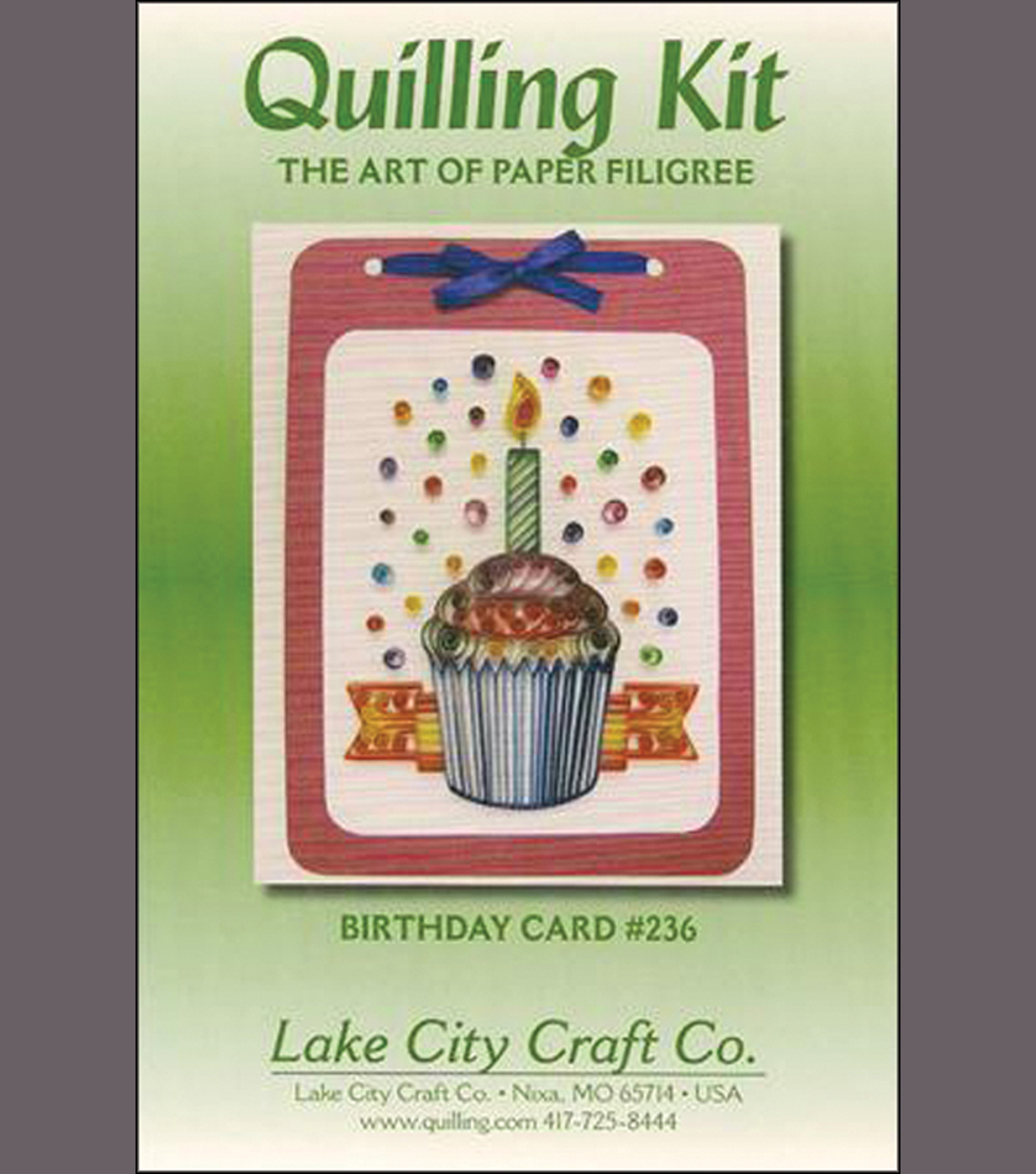BIRTHDAY C-QUILLING KIT