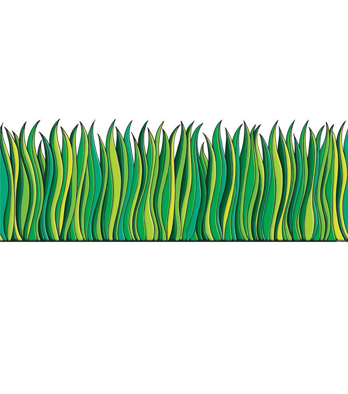 Tall Green Grass Accent Punch Outs 6/pk, Set Of 6 Packs