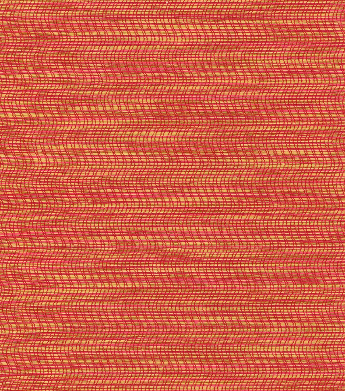 P/K Lifestyles Multi-Purpose Decor Fabric 56\u0022-Shimmy/Cayenne