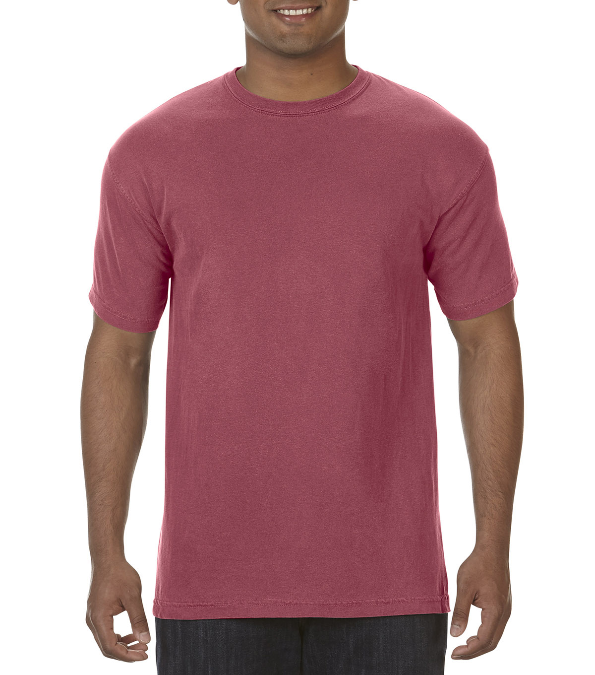 Adult Comfort Colors T-shirt-Medium, Crimson