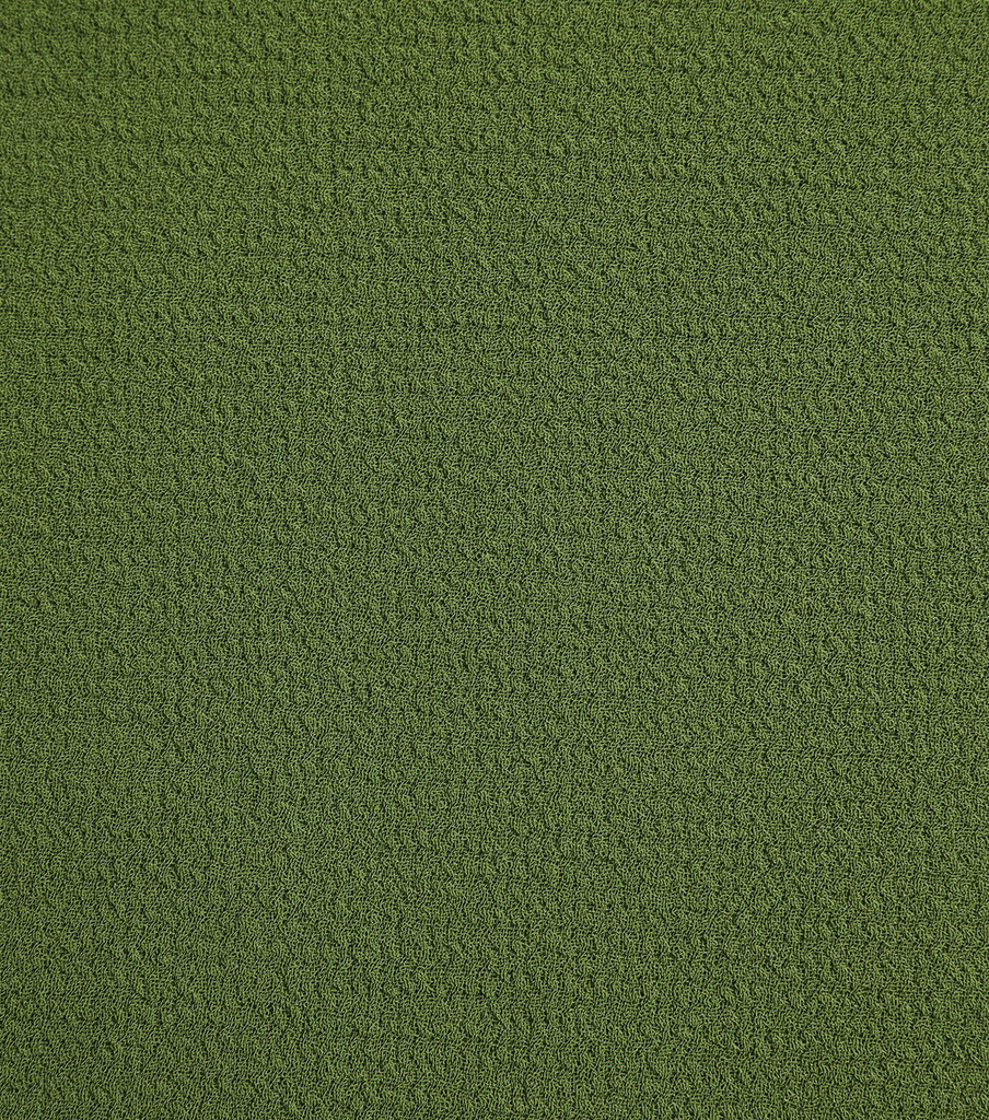 Silky Solid Crepe Knit Fabric-Solid Textured, Wnter Moss