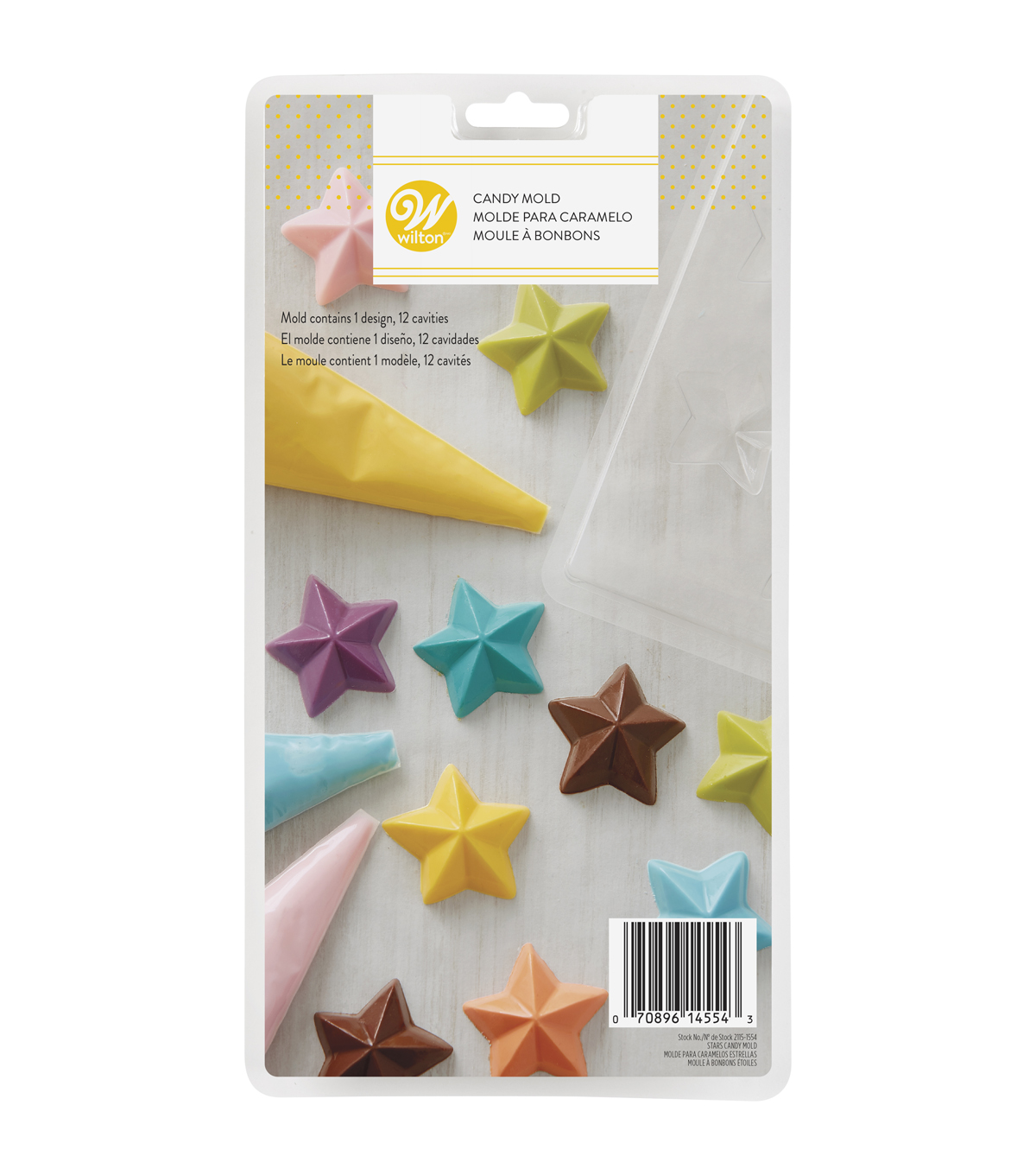 Wilton Candy Mold-Stars
