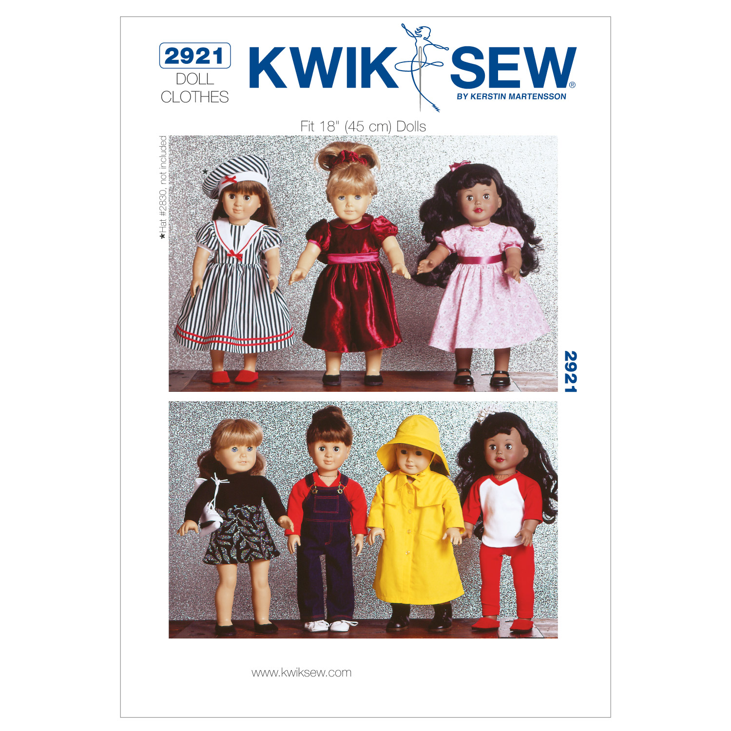 Kwik Sew Crafts Doll Clothes-K2921