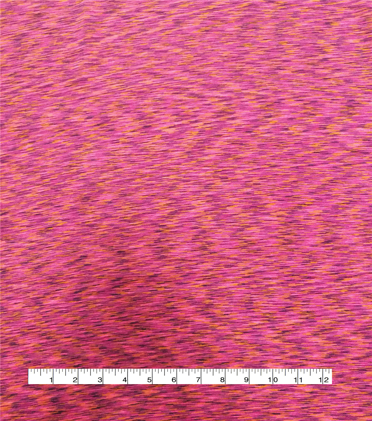 Loungeletics Performance Knit Fabric-Pink Spacedye