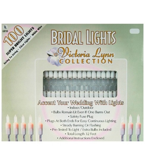 Darice 100ct 32\u0027 Bridal Lights
