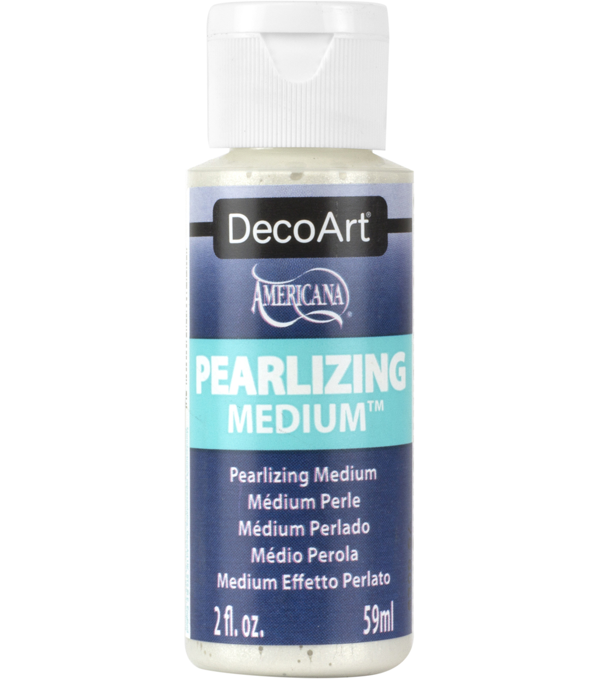 DecoArt Pearlizing Medium-2 Ounce