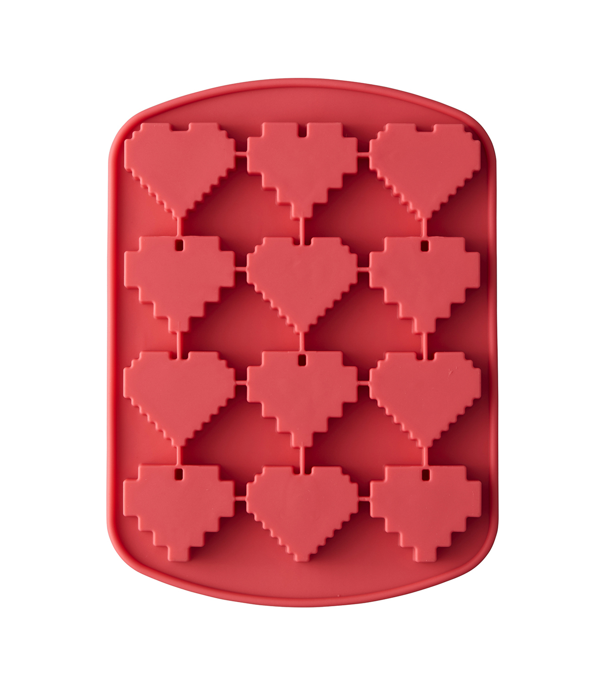 Rosanna Pansino By Wilton 12 Cavity Silicone Heart Candy Mold