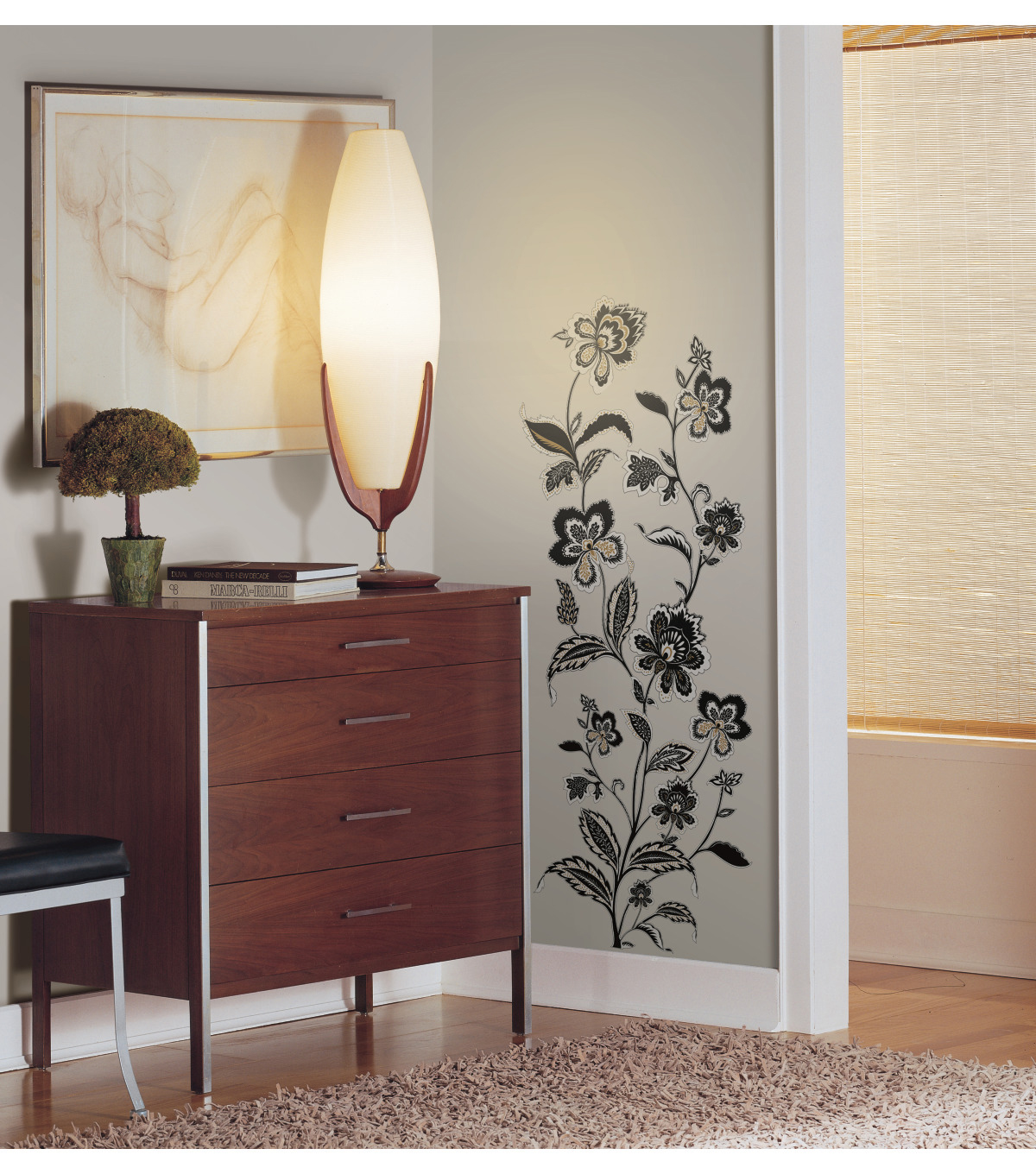 York Wallcoverings Wall Decals-Jazzy Jacobean