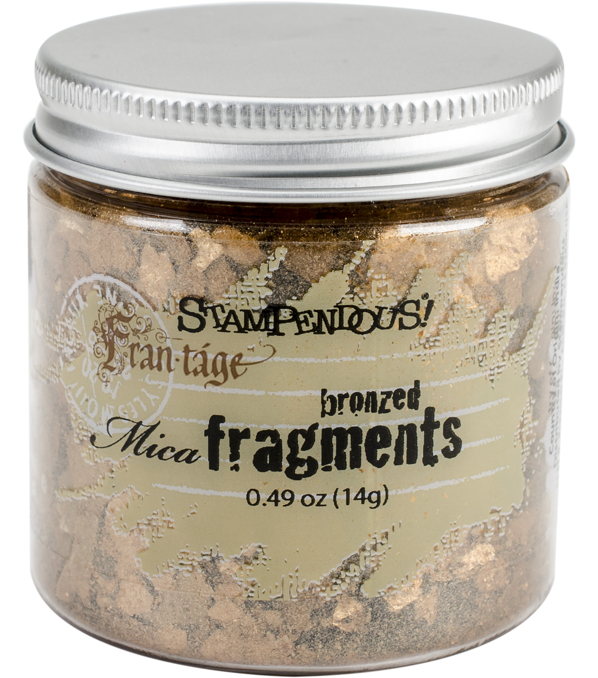 Stampendous Mica Fragments-Bronzed