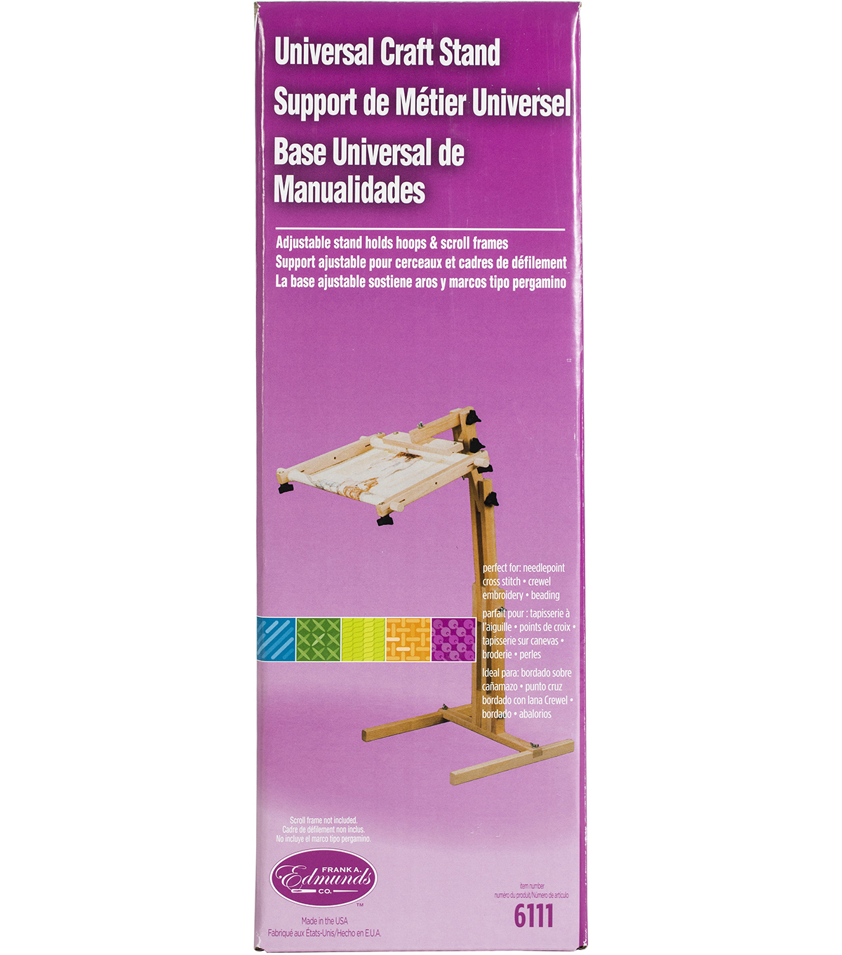 F A Edmunds Adjustable Craft Floor Stand Joann