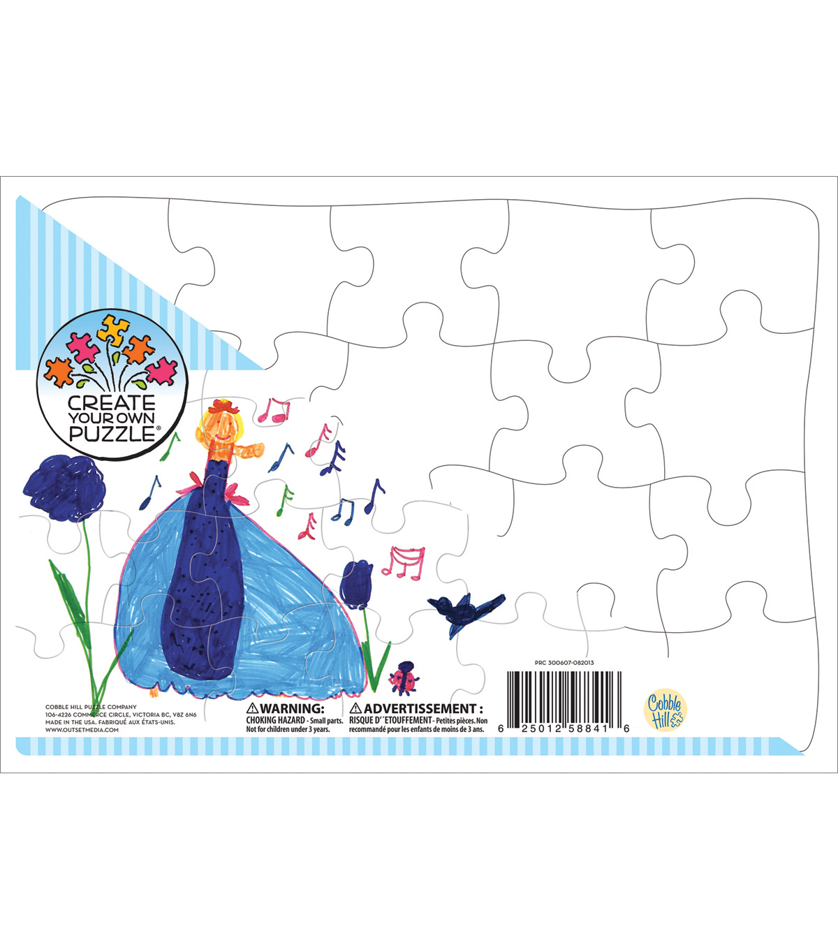 create your own puzzle 14 x10 20 piece jigsaw puzzle joann