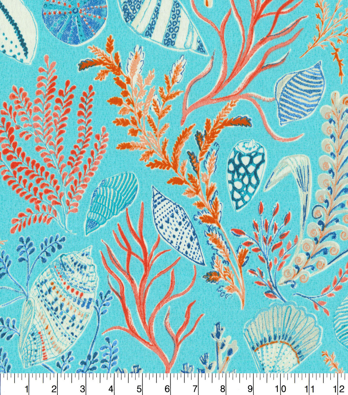 Dena Designs Outdoor Fabric 54\u0022-Sun Dream Reef