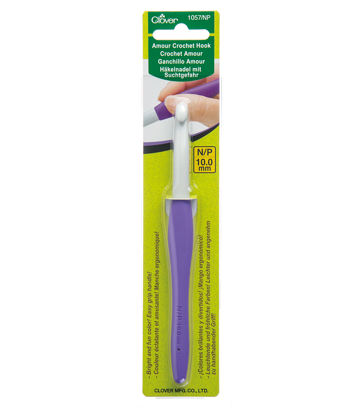 Amour Crochet Hook-Size N/P/10.0mm