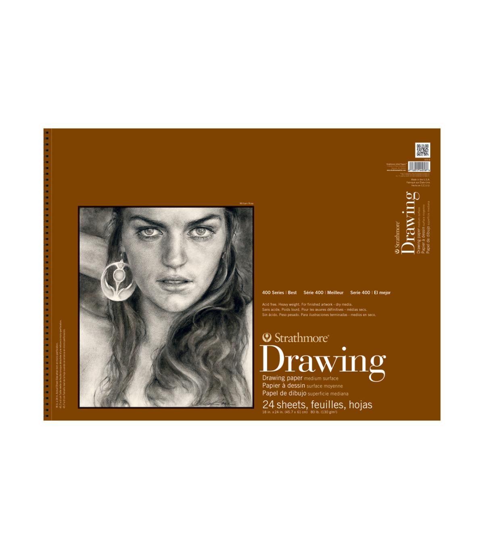 Strathmore Medium Drawing Paper Pad 18x24 Joann