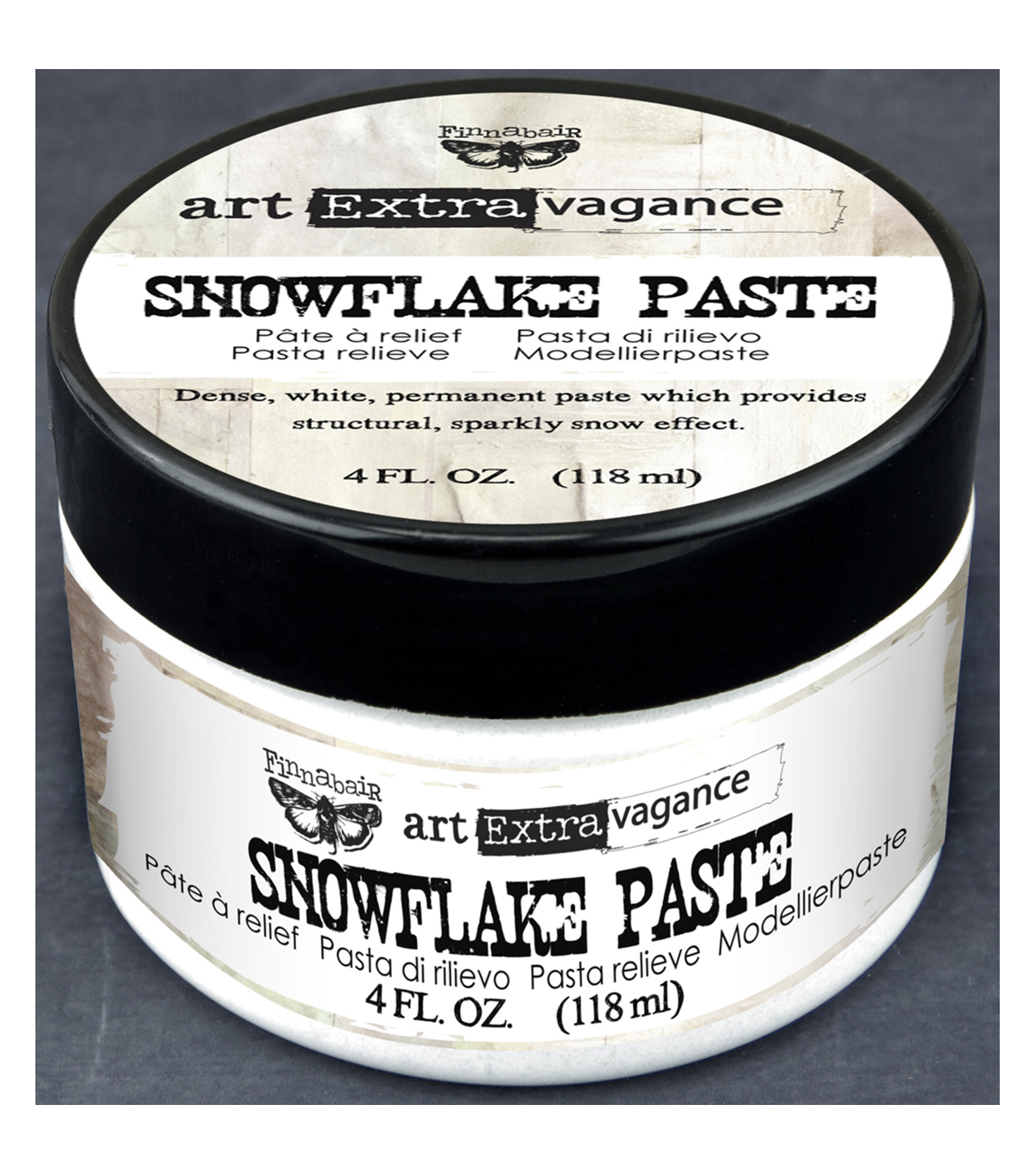 Prima Marketing Art Extravagance Finnabair 4 fl. oz. Snowflake Paste