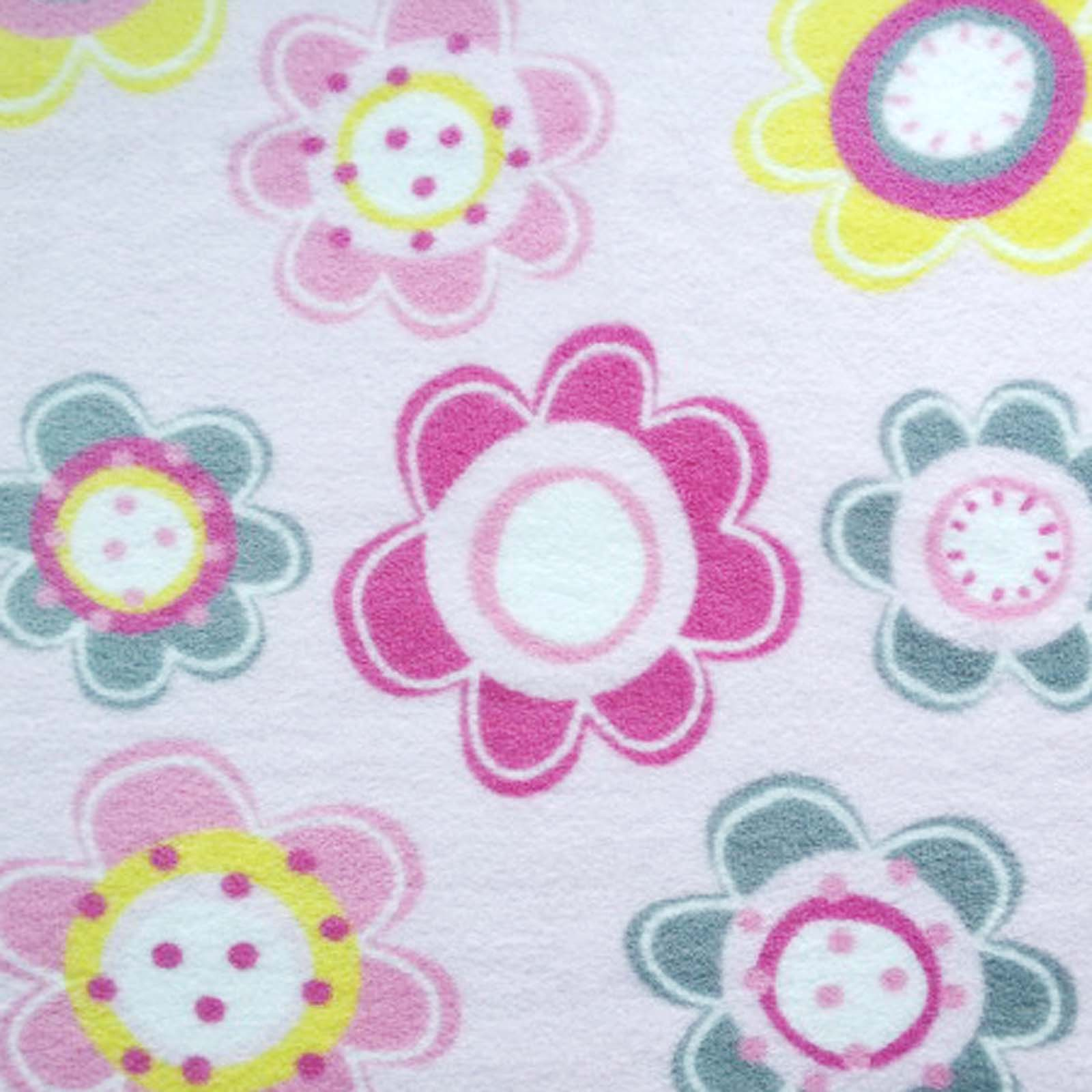 Nursery Fabric- Pink Floral