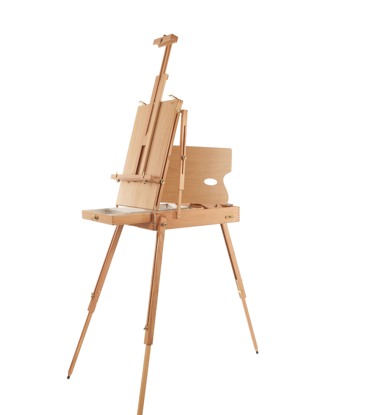 Darice French Sketch Box Easel With Palette Joann