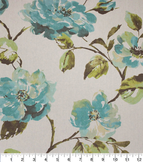Home Essentials Lightweight Decor Fabric 45\u0022-Cadence Peacock