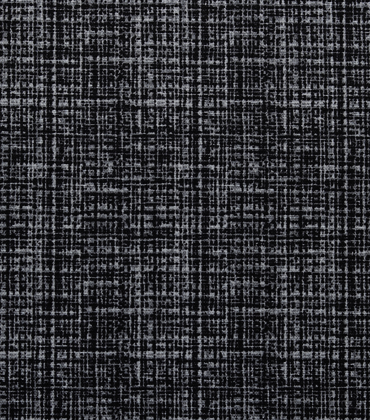 Keepsake Calico Cotton Fabric 43\u0027\u0027-Black Mini Crosshatch