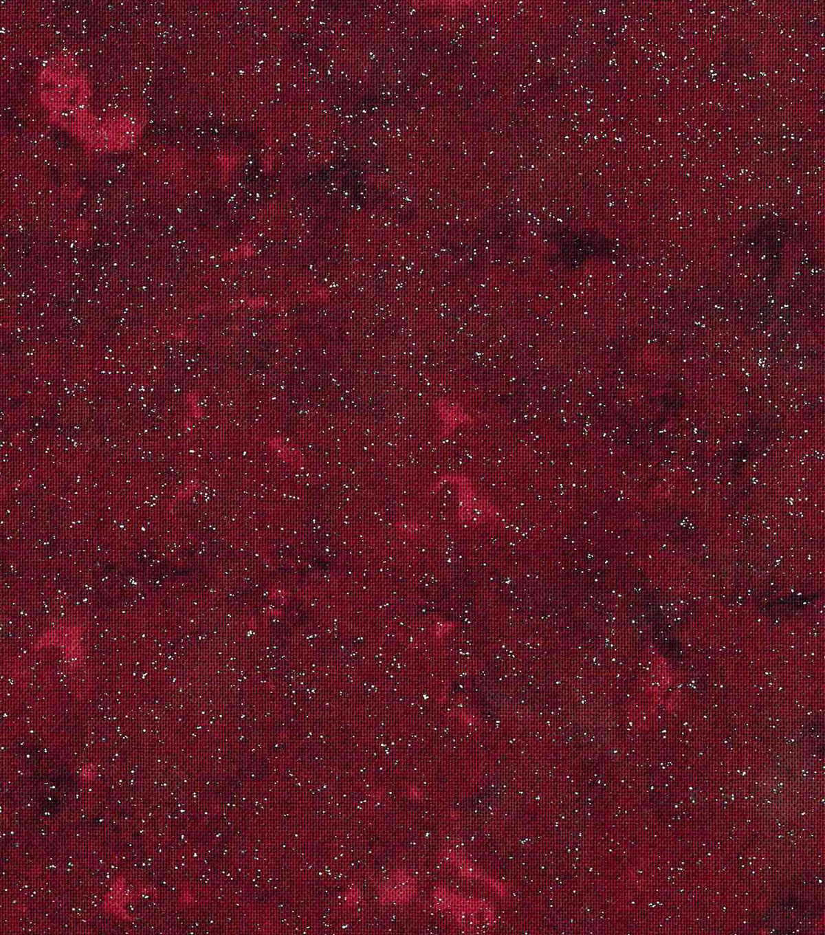 Keepsake Calico Cotton Fabric -Marble Blender Red Glitter