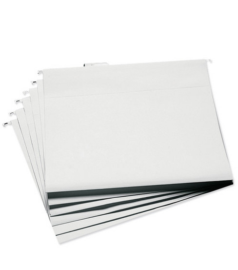 Cropper Hopper Hanging File Folders 13\u0022x14\u0022 6/pkg-White