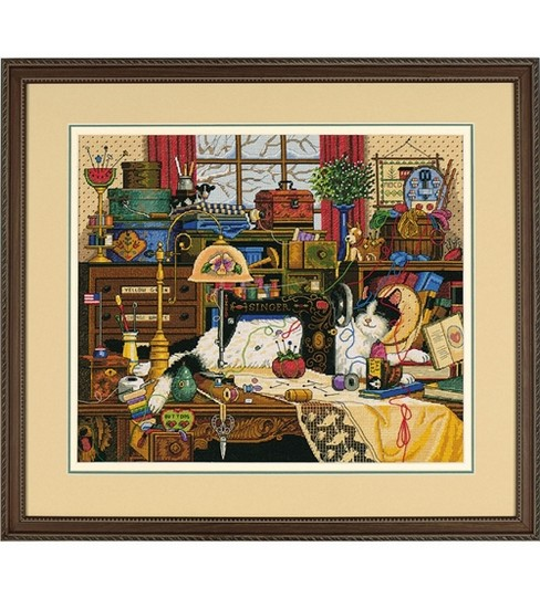 Dimensions Counted Cross Stitch Kit-Maggie the Messmaker