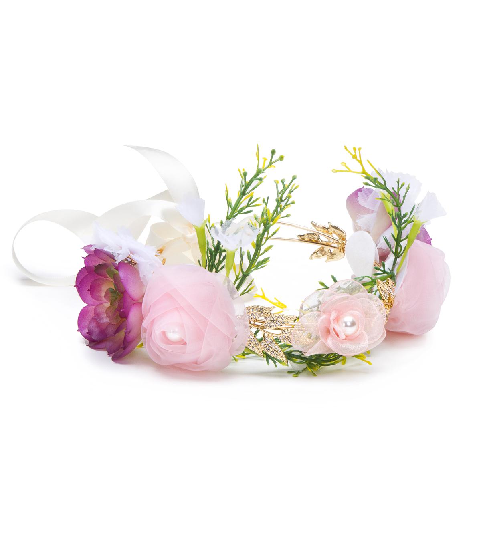 David Tutera Floral Hair Crown Joann