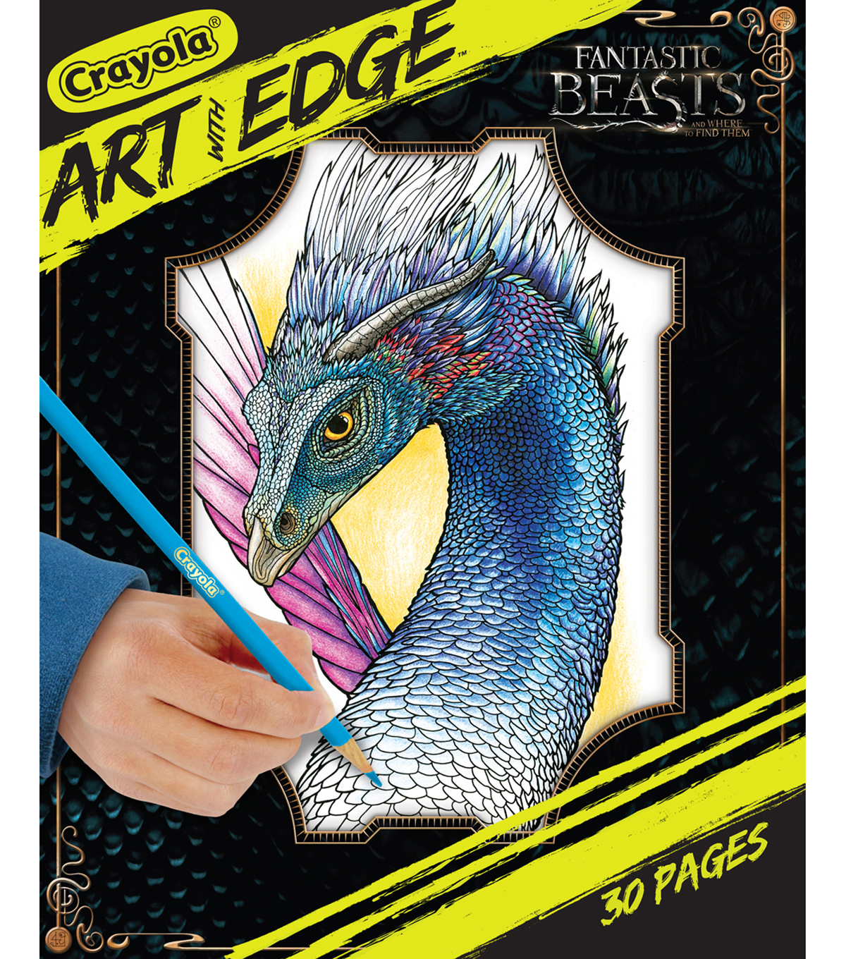 Crayola Art With Edge Coloring Pages-Fantastic Beasts | JOANN
