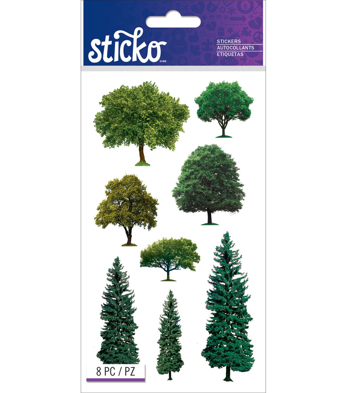 Trees -sticko Classc Stickr