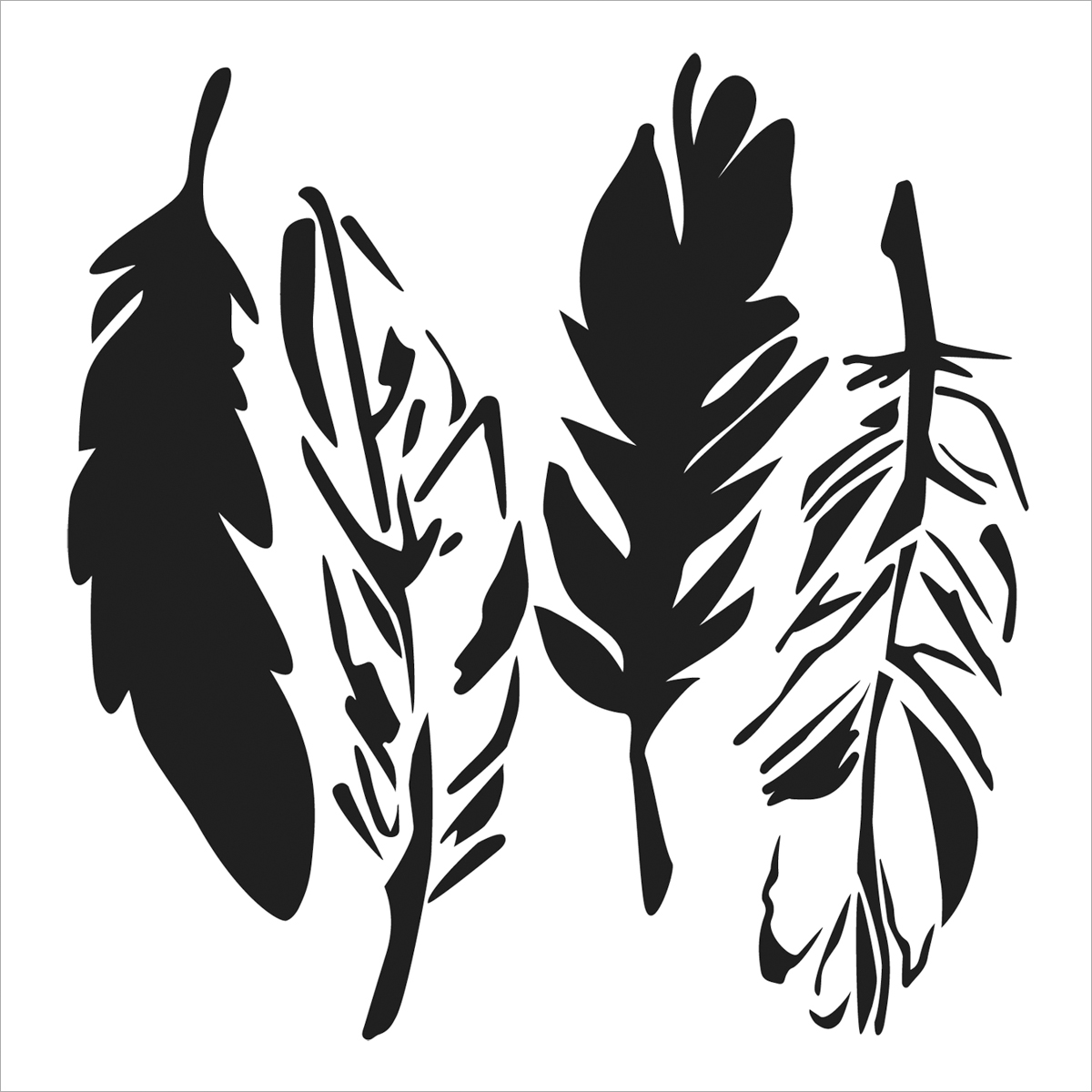 Crafter\u0027s Workshop Templates 4 Feathers