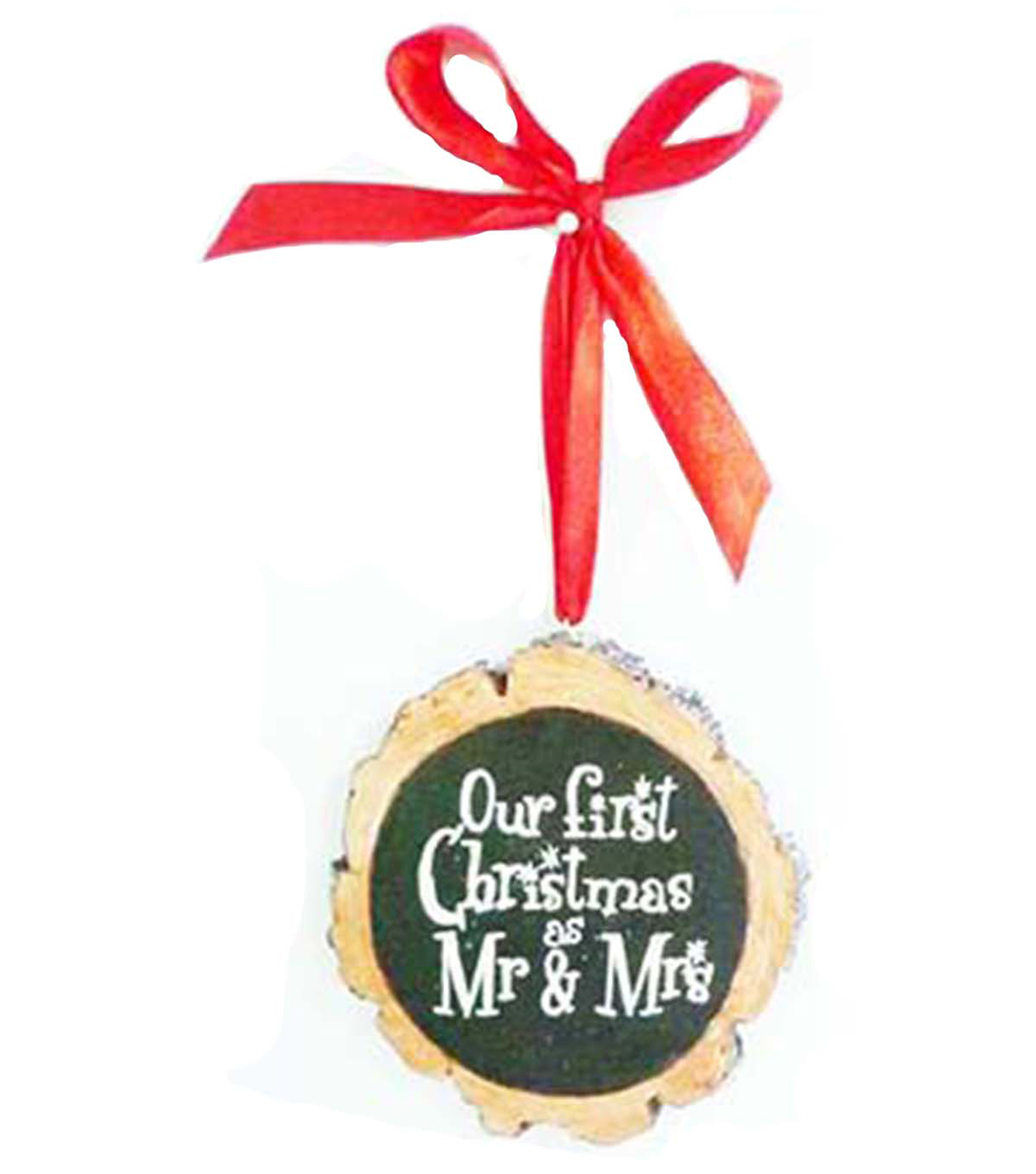 makeru0027s holiday christmas ornament our first christmas as mr mrs