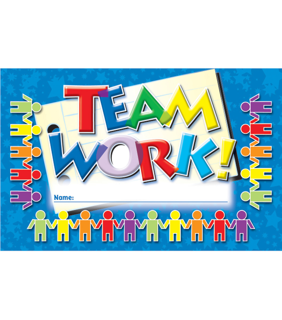 North Star Teacher Resource Teamwork Punch Cards, 36 Per Pack, 6 Packs