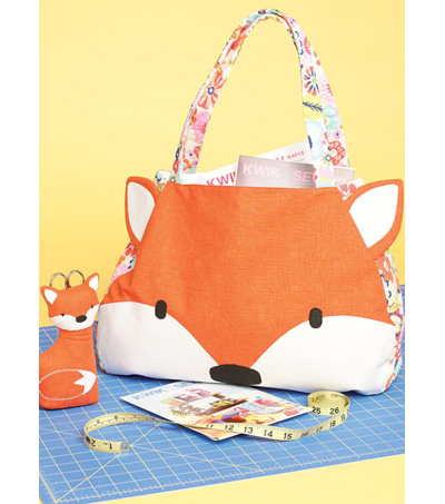 Kwik Sew Pattern K4212 Tote Bag & Scissor Holder with Pockets