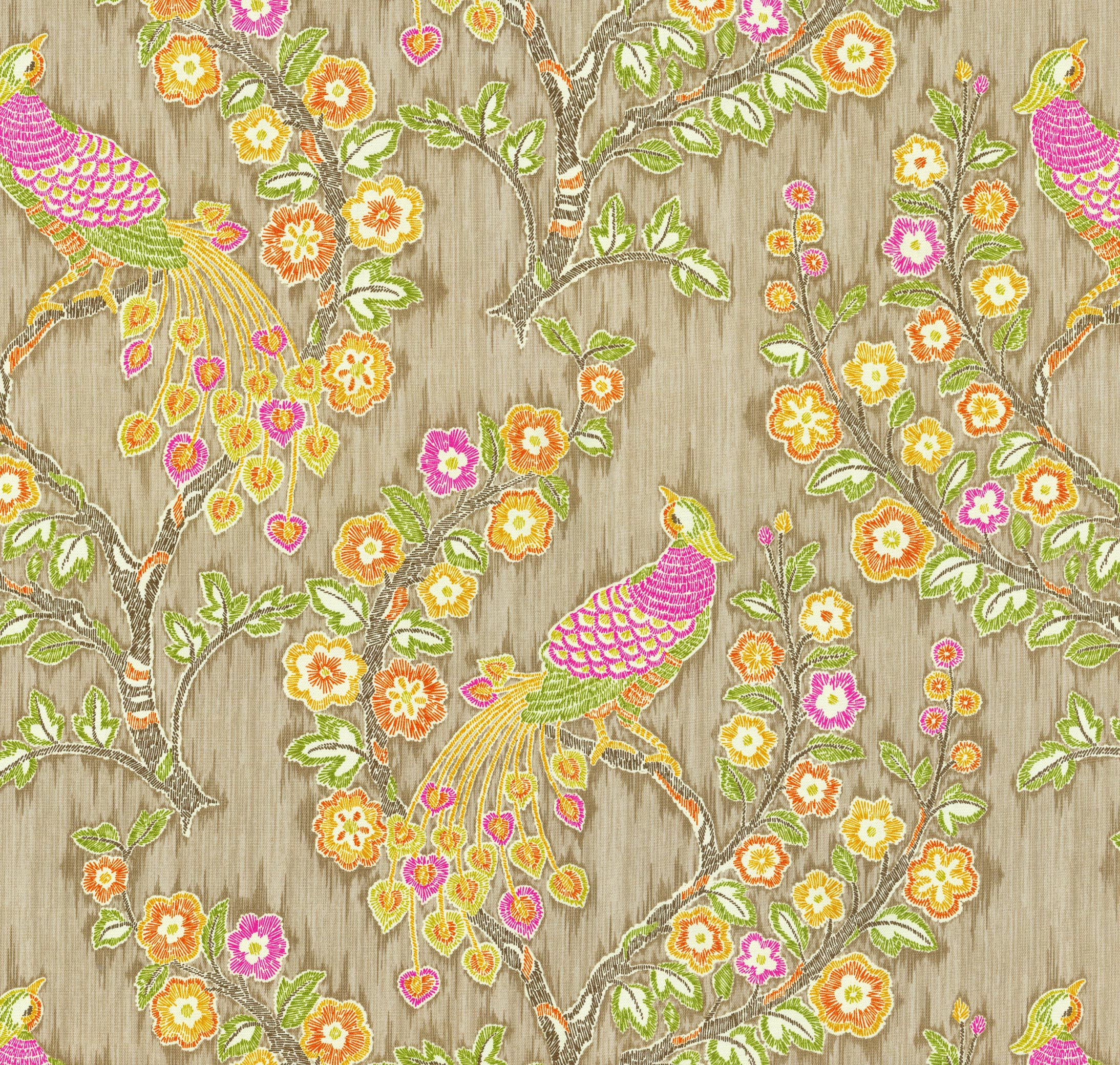 Home Decor 8\u0022x8\u0022 Fabric Swatch-IMAN Home Magic Garden Nectar