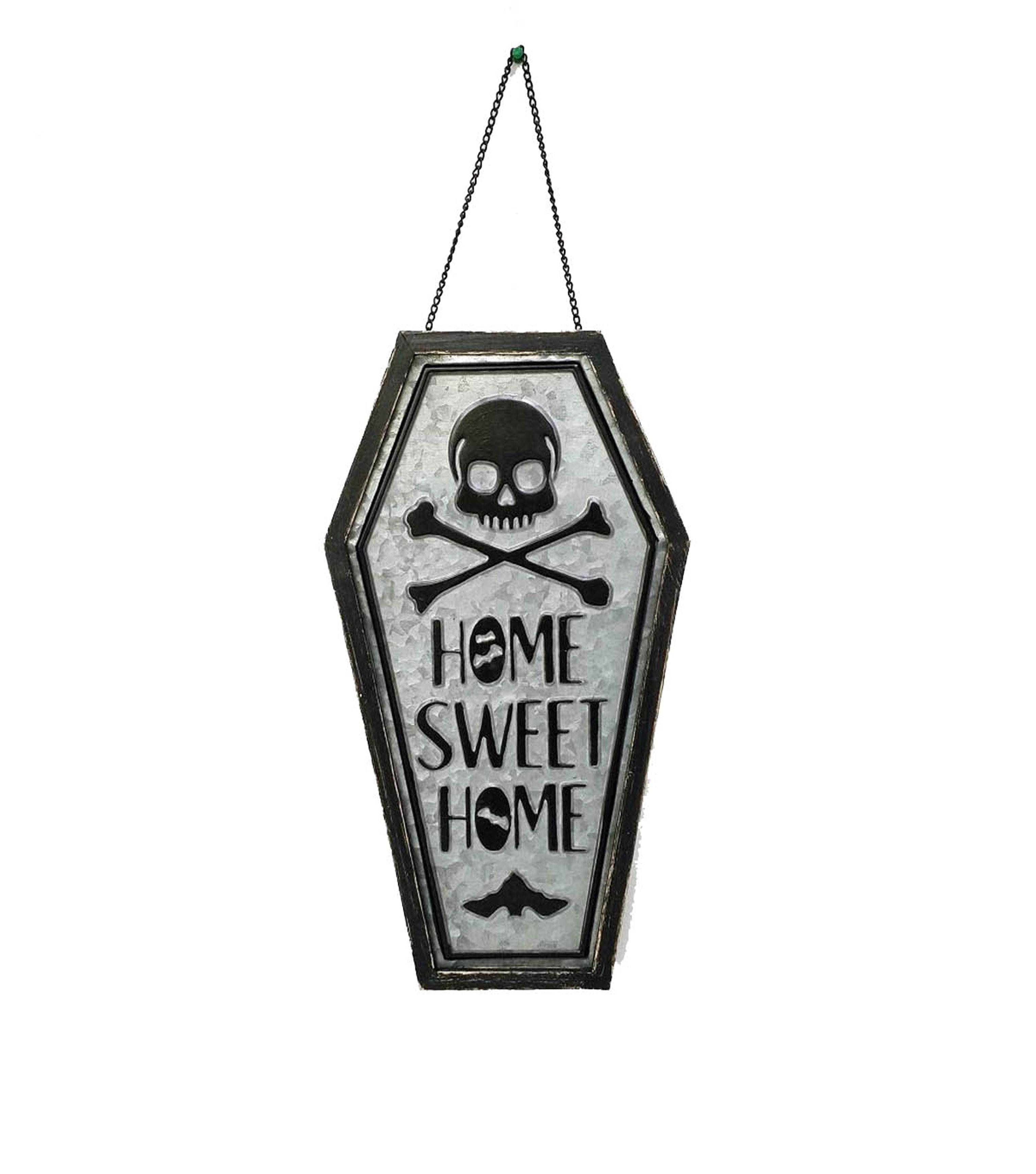 Makers Halloween Coffin Wall Decor Home Sweet Home Joann