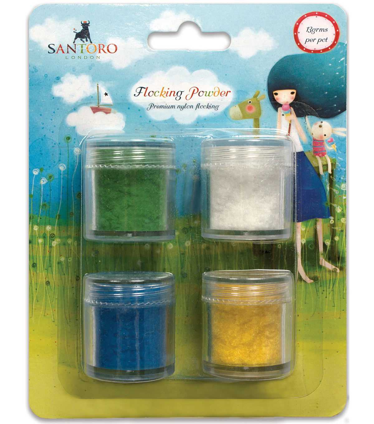 Santoro Kori Kumi II Premium Nylon Flocking Powder Pack