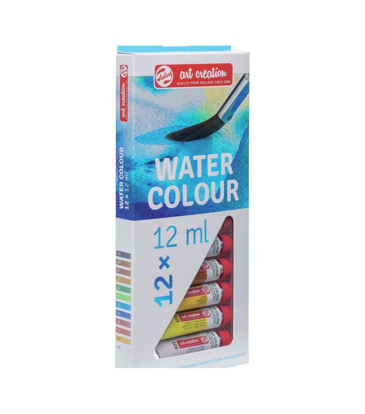 Talens Art Creation 12 pk 0.4 fl. oz. Water Colour Paint