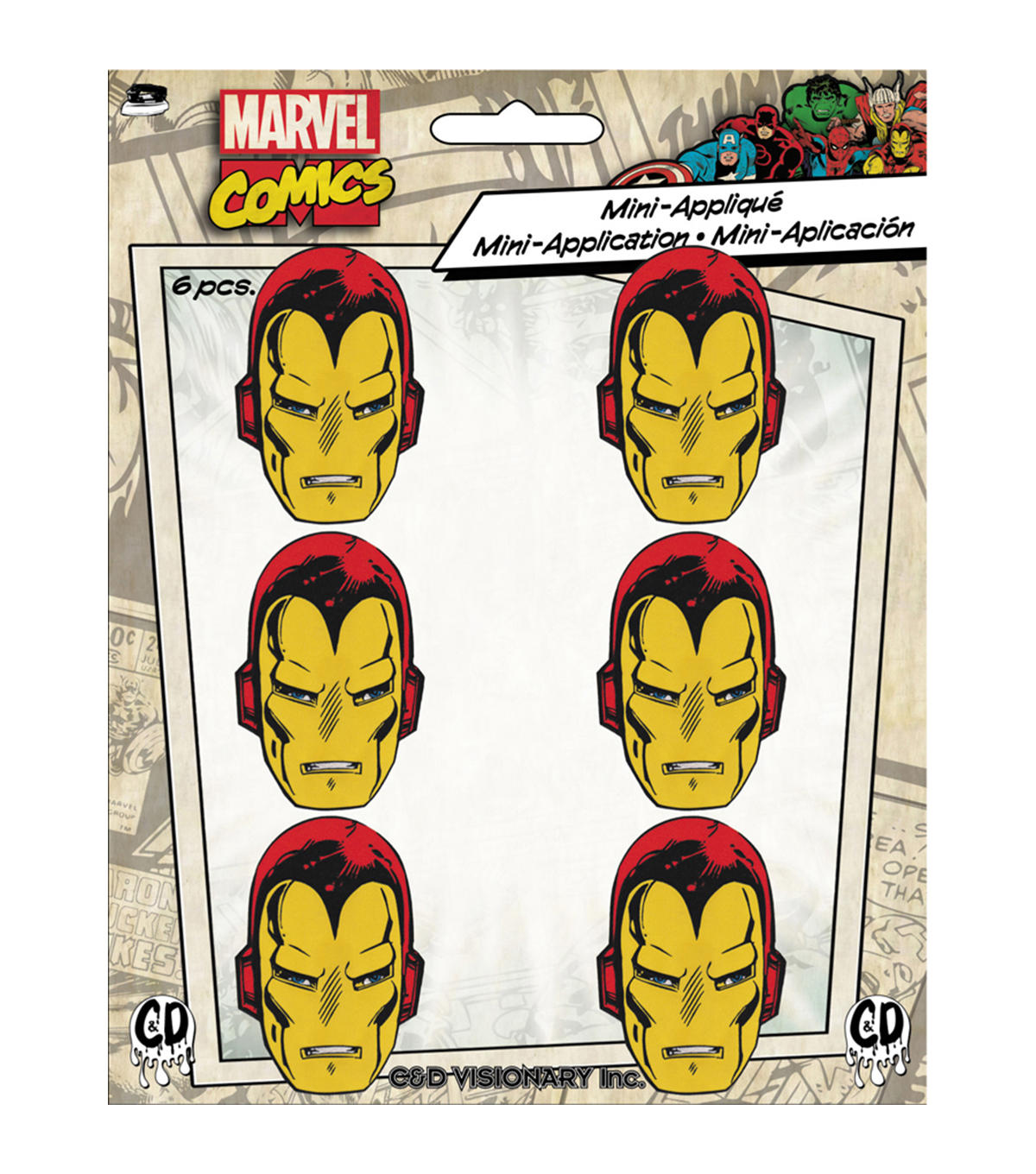 Marvel Comics Patch-Iron Man