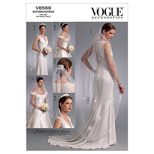 Vogue Patterns Misses Bridal-V8569