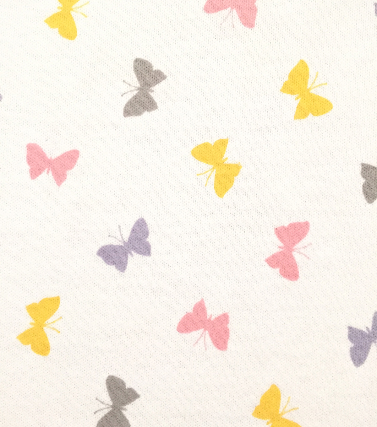 Doodles Juvenile Apparel Fabric -Tiny Butterfly