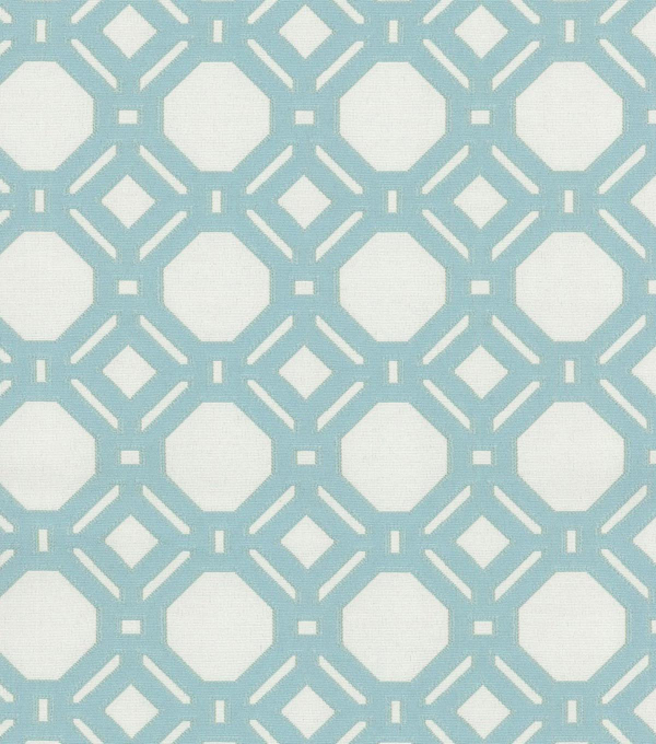 P/K Lifestyles Upholstery 8x8 Fabric Swatch-Level Off/Seaglass