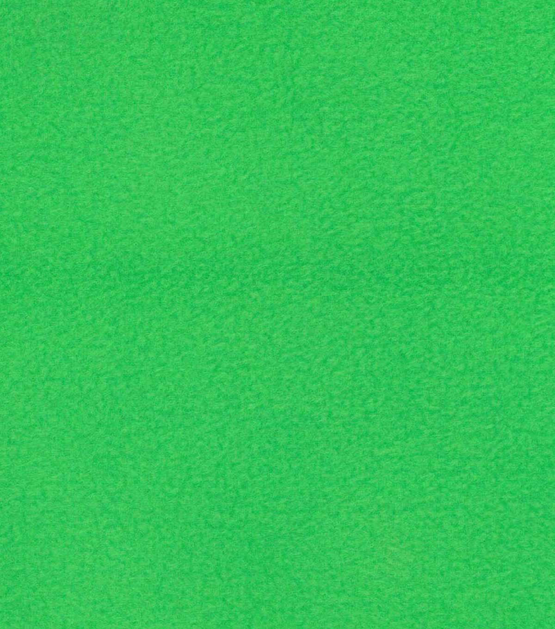 Anti-Pill Fleece Fabric -Solids, Backyard Green