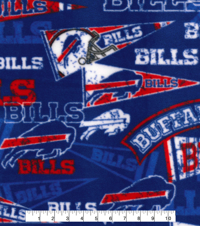 81f24e93 Buffalo Bills Fleece Fabric -Retro