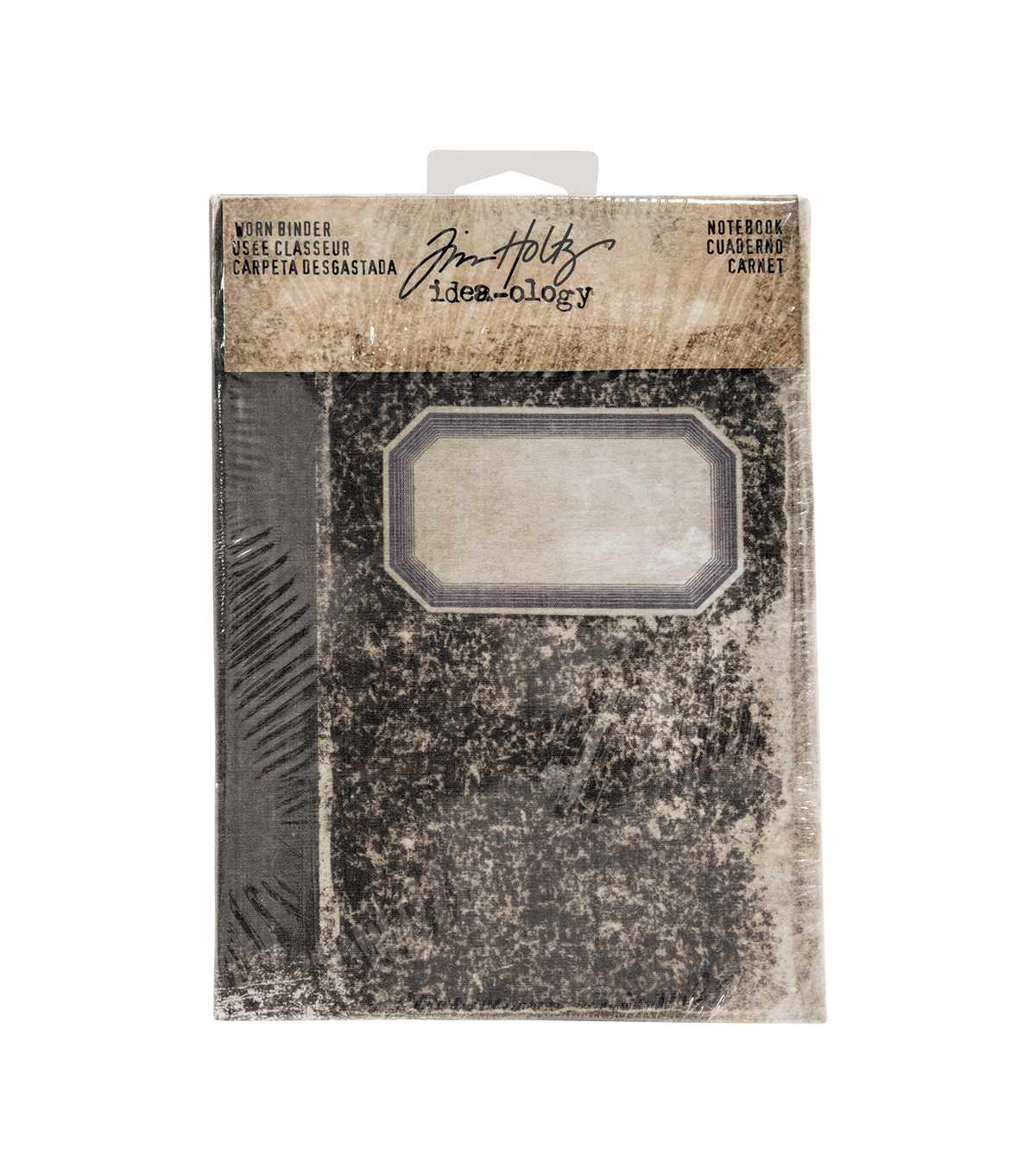 Tim Holtz Idea-ology Notebook Worn Binder