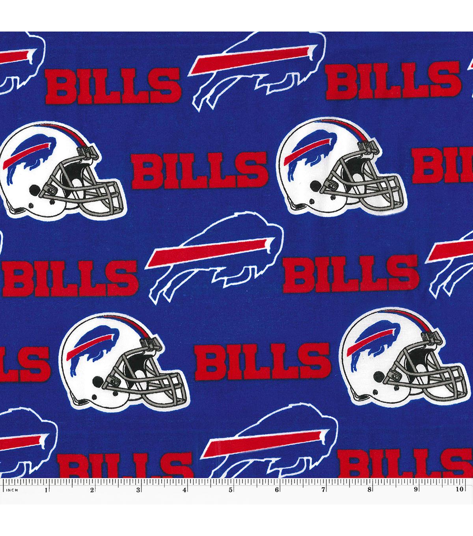 Buffalo Bills Cotton Fabric 58 Blue Joann