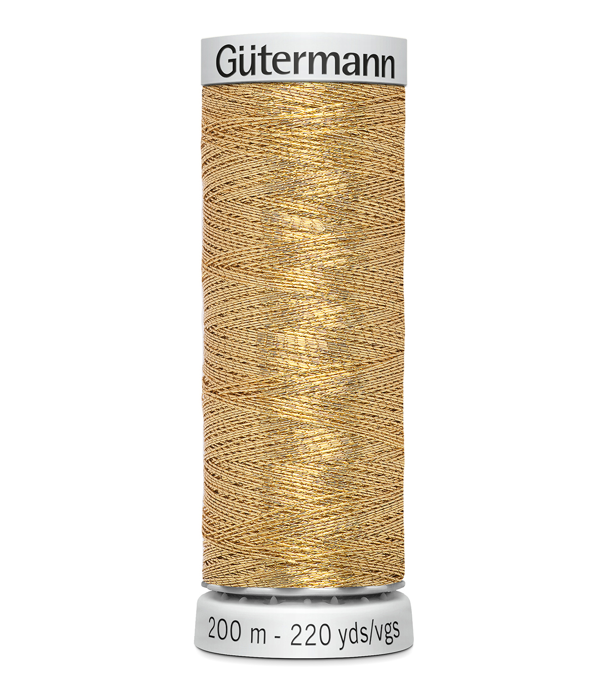 Gutermann 200M Dekor Thread, 200m Dekor Metallic-bronze Gol